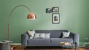 Wohnzimmer Streichen Muster : wandfarben ideen im wohnzimmer hier inspiration holen ~ Markanthonyermac.com Haus und Dekorationen