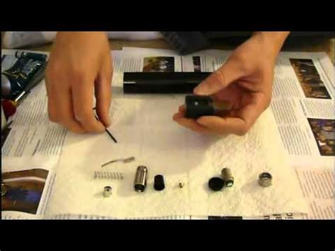 maglite  cell disassembly youtube