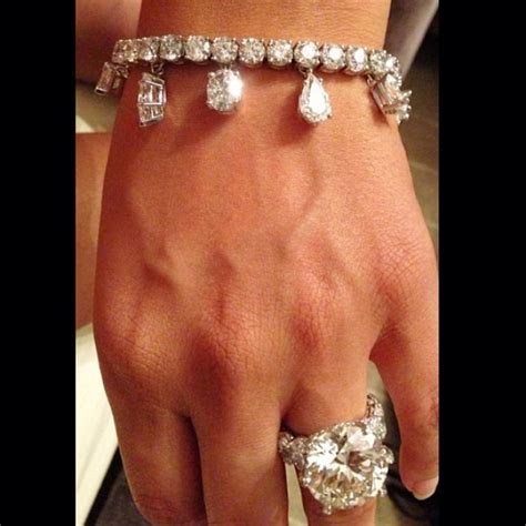 floyd mayweather gets fiancee stacked with massive rings