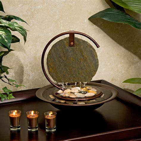 mini water fountain for desk have to have it slate bluworld mini moonshadow tabletop