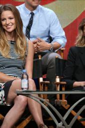 Melissa Benoist - Supergirl Panel at Summer TCA Tour in ...