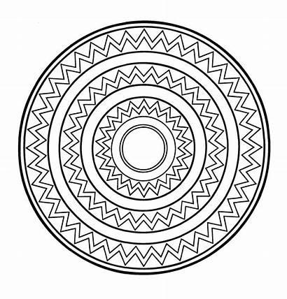 Mandala Mandalas Pintar Solar Redondos