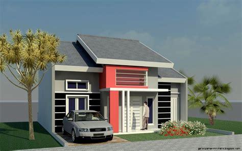 model rumah masa kini gallery taman minimalis