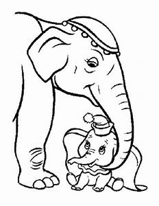 mom and baby coloring pages - baby elephant coloring pages 570326