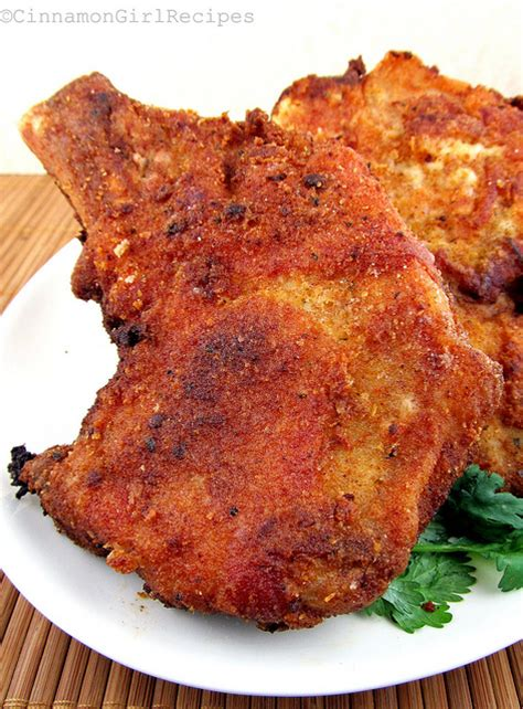 fry pork chops pan fried pork chops