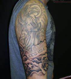 25 Best Remembrance Angels And Clouds Tattoo images | Arm ...