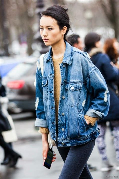 18 Styles to Wear Your Denim Jackets for Spring - Pretty ...