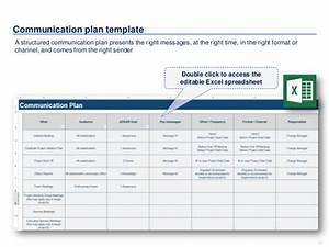 change management communication template - change management toolkit including models plans