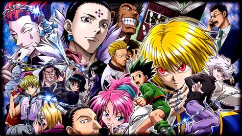 hunter  hunter gon  killua leorio paradinight lucifer