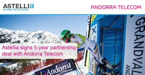 ผู้จัดหาโครงข่าย Astellia กับมือ Andorra Telecom ใช้ ...