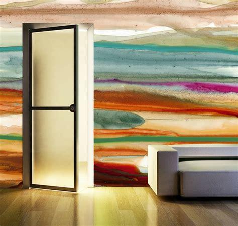 wandfarben ideen mit aquarell die sie begeistern werden