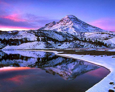 images  snowy mountains  pinterest lakes