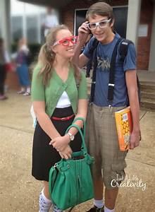 Nerd Day Costume Ideas for Homecoming Week! - Just a