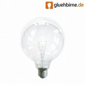 Glühbirne 40 Watt : globe gl hbirne 40w e27 klar g120 125mm globelampe 40 watt gl uu ~ Frokenaadalensverden.com Haus und Dekorationen