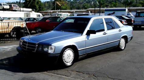all car manuals free 1985 mercedes benz w201 security system 1985 mercedes benz 2 owner 190e classic youngtimer w201 baby benz lowered youtube