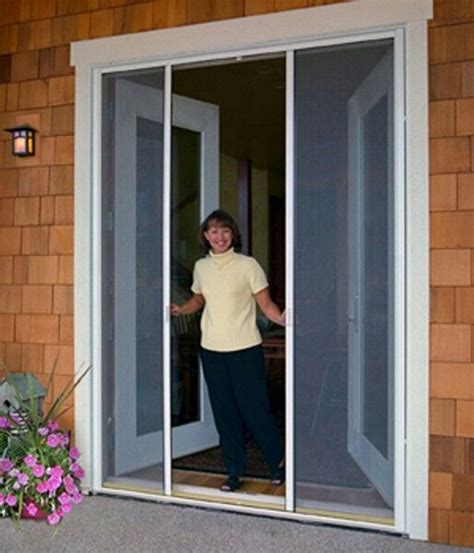retractable screen doors for patio doors porch