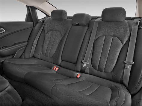 image  chrysler  limited platinum fwd rear seats