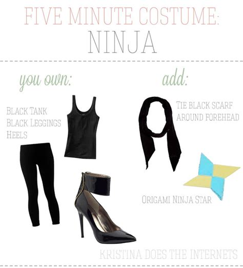 Costumes Out Of Your Closet by Does The Internets Five Minute Costumes