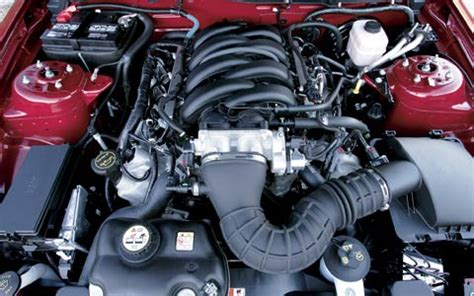 2005 Ford Gt Engine by 2005 Ford Mustang Gt Convertible Drive Road Test