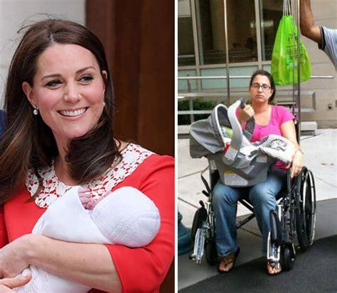 women  sharing   version  post birth    kate middleton flawless pics