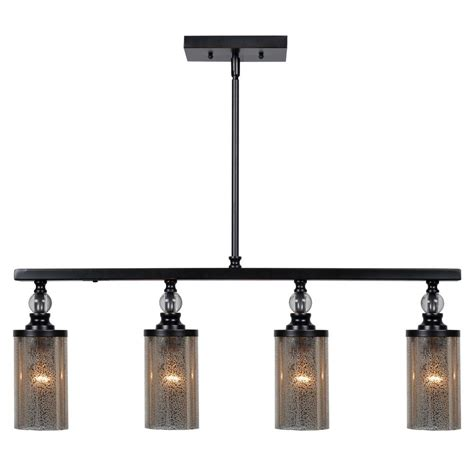 rubbed bronze kitchen island lighting mercury glass island light rubbed bronze by kenroy 8978