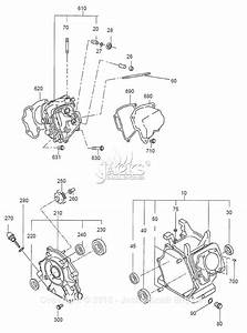 Robin  Subaru Ex40 Parts Diagram For Crankcase