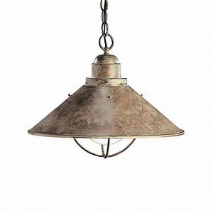 Kichler lighting ob seaside transitional pendant light