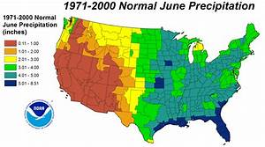100+ [ Rainfall Totals Map ] | National Climate Report ...