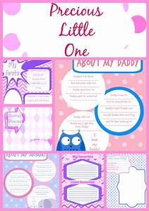 Printable Baby Book Pages for Girls