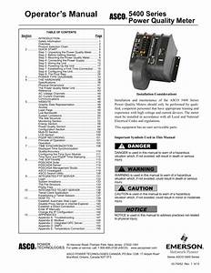 5400 Series Power Quality Meter User Guide