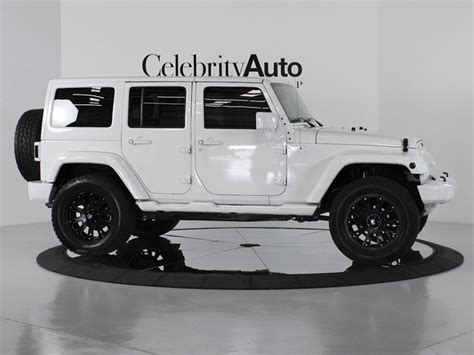 custom jeep white jeep wrangler unlimited lifted no doors image 136