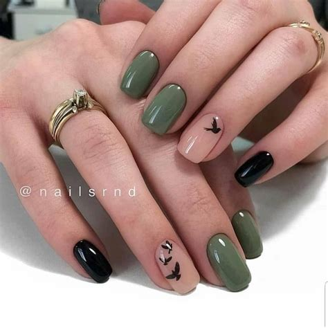 nail polish khaki green
