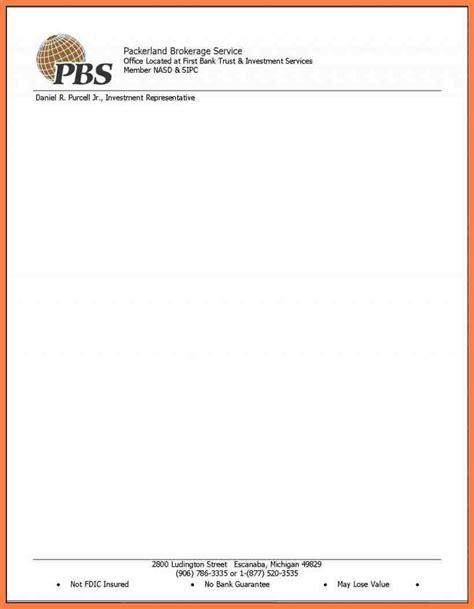 fresh sample letter head   company letterhead