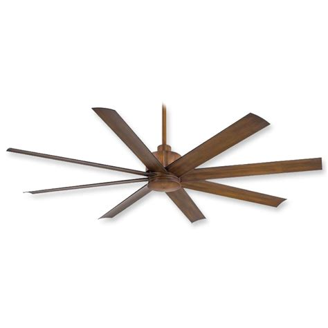 minka aire slipstream ceiling fan distressed koa 65 inch