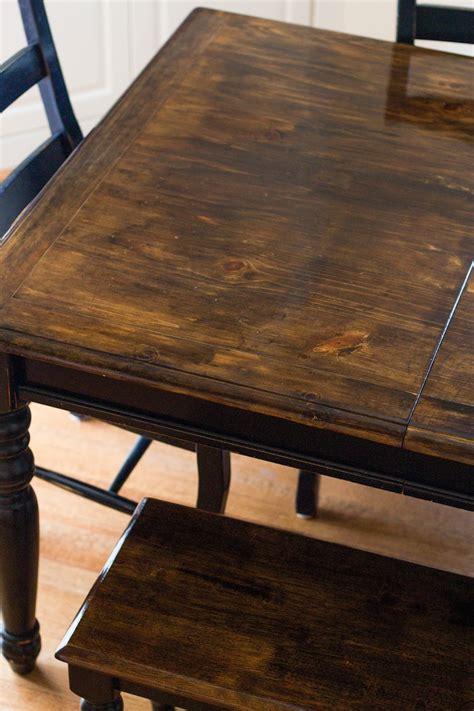 divas diy refinish   table top