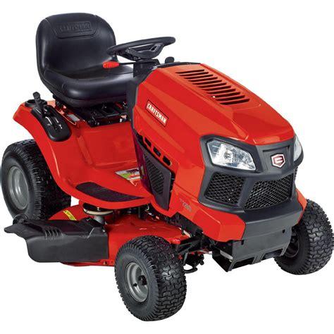 craftsman garden tractor craftsman 20381 42 quot 19 hp briggs stratton hydrostatic