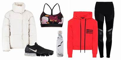Yoga Outfits Outfit Crop Wear