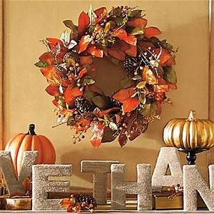 Wreaths Give thanks and Indoor on Pinterest