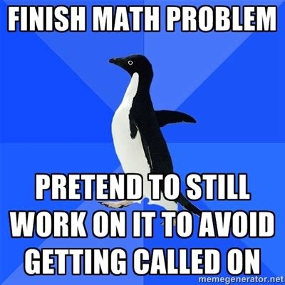 Math Nerd Meme - 301 moved permanently