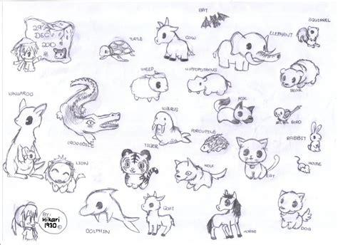 chibi animals  hikari  deviantart