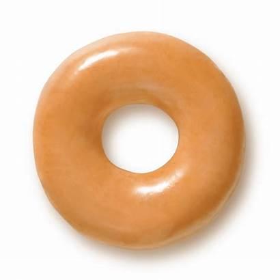 Donut Glazed Clipart Krispy Doughnut Kreme Doughnuts