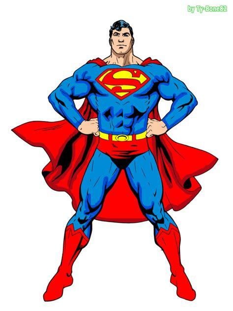 star superman  unique cartoon  virily