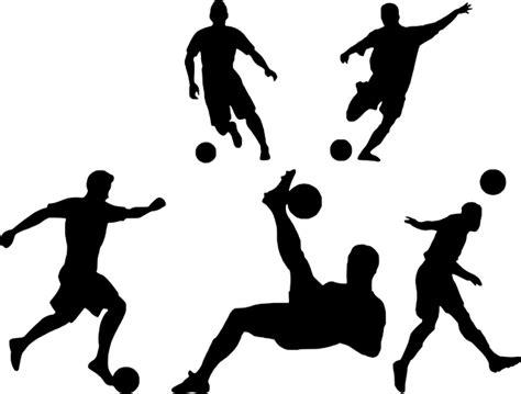 축구 실루엣 놀이 · Pixabay의 무료 벡터 그래픽
