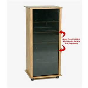 glass door stereo cabinet manicinthecity