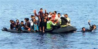 Overcrowded Refugee Boat by Refugee Boat Capsizes Off Turkey 60 Dead Greek Reporter