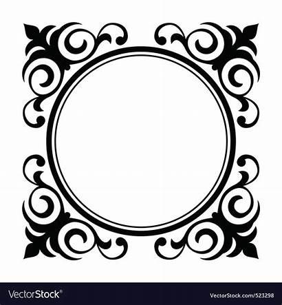 Circle Decorative Frame Vector Ornamental Vectors Royalty