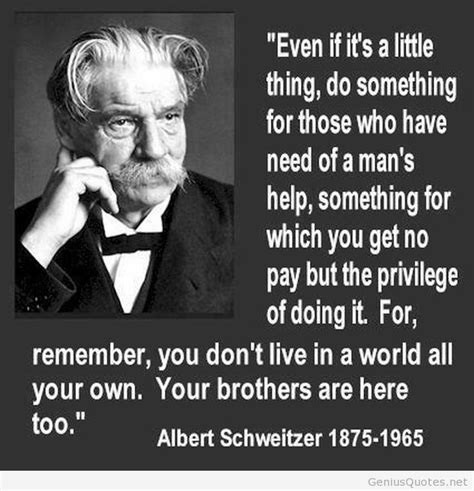 Albert Schweitzer Quotes Albert Schweitzer Quotes Image Quotes At Relatably