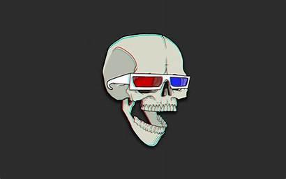 Skull Bones Object Wallpapers Desktop Backgrounds Minimalism