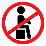 Sign Sit Icon Ban Fragile Box Icons