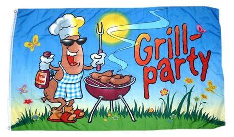 fahne flagge grill party grillfahne fun spass fun